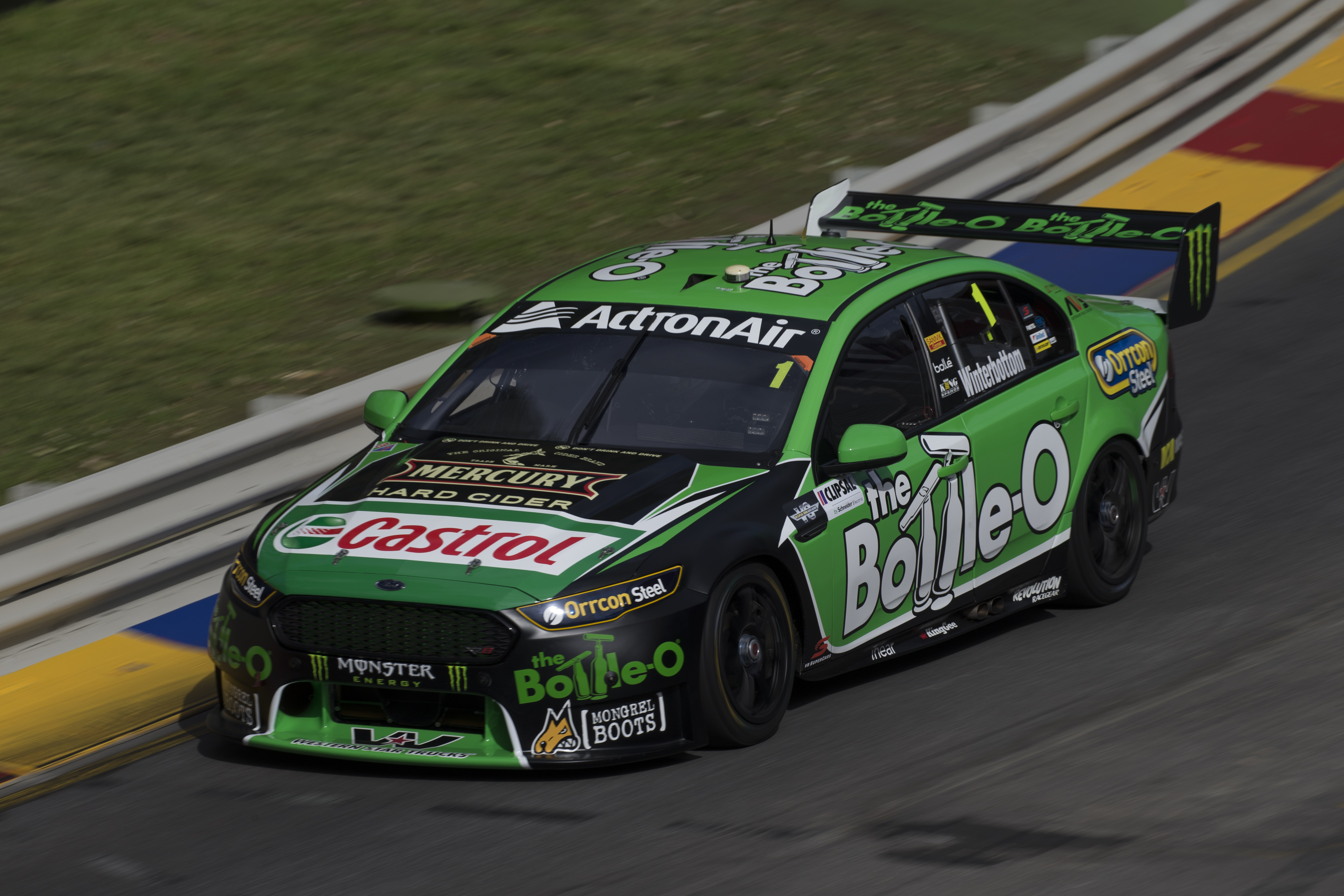 Mark Winterbottom of Prodrive Racing Australia during the Clipsal 500,  at the Adelaide Street Circuit, Adelaide, South Australia, March 04, 2016.