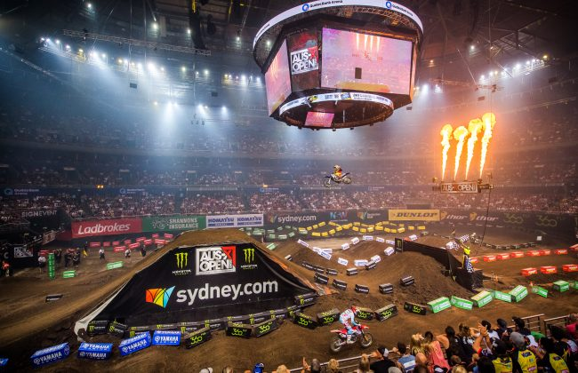 2016 AUSX Open. Kudos bank Arena, Homebush, Sydney, New South Wales, Australia.  Saturday 12th to 13th November 2016. World Copyright: Daniel Kalisz/AUSXOPEN Ref: Digital Image DSC_2327.NEF