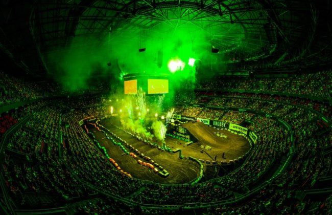 2017 Monster Energy AUSX Open.  Qudos Bank Arena, Sydney, New South Wales, Australia. Saturday 11th November to Sunday 12th November 2017. World Copyright: Daniel Kalisz Photographer Ref: Digital Image DSC_9003.NEF